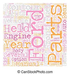 The Contour Years text background wordcloud concept