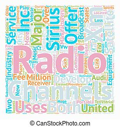 The development of Satellite radio in the United States text...