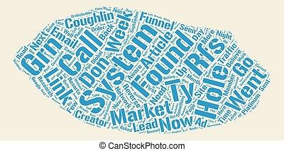 Desarrollo, concepto, texto, wordcloud, Plano de fondo,...