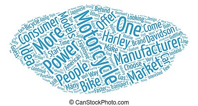 The History of Motorcycles 1 text background wordcloud concept