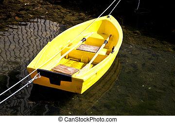 Row boat - close up of a row boat