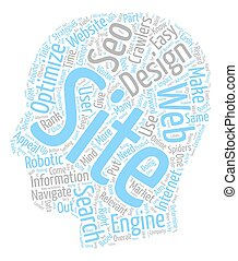 The Impact Of SEO Web Design On Your Online Success text background wordcloud concept