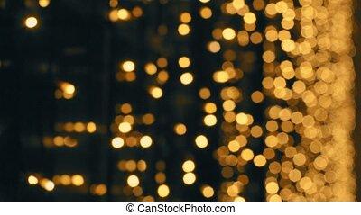 Defocused illumination in the night