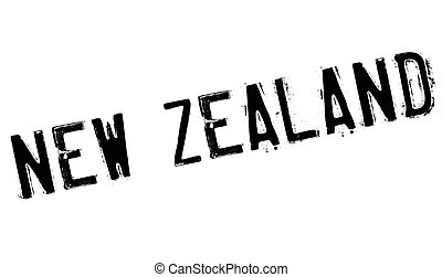 New Zealand stamp. Grunge design with dust scratches....
