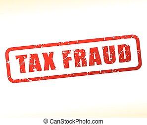 tax fraud text buffered
