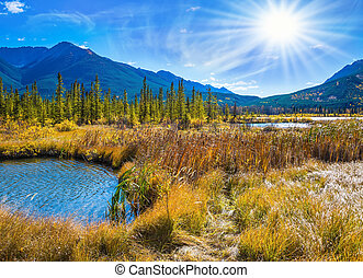 Concept of ecotourism in Banff National Park - Gorgeous...