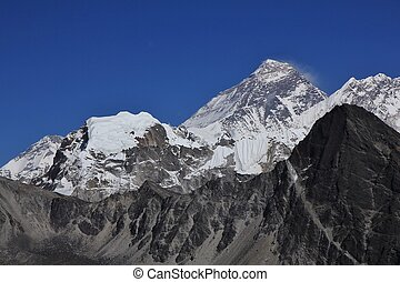 Mount Everest, view from Gokyo Ri