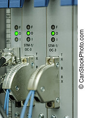 Working equipment in mobile switching center
