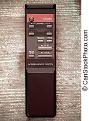 Remote control from video recorder - Old remote control from...