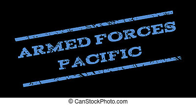 Armed Forces Pacific Watermark Stamp - Armed Forces Pacific...