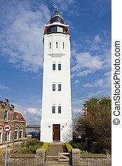 lighthouse, Netherlands - lighthouse, Harlingen, Friesland,...