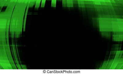 Green high tech looping rolling glitch background - Animated...
