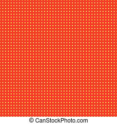 Red and yellow (50s, 60s popart) background pattern.