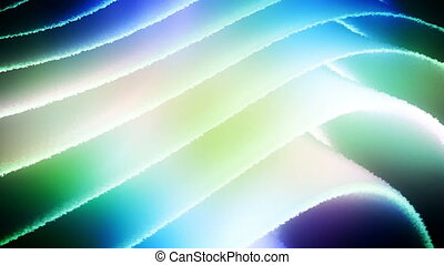 Multi colored flowing ripple abstract looping backdrop -...