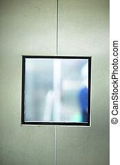 Operating room surgery door