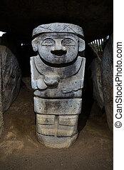 Pre-Colombino, estatua
