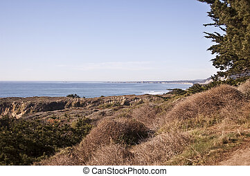 Santa Cruz Shoreline - View of Santa Cruz Shoreline