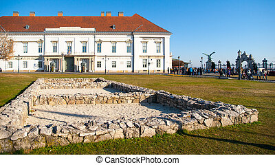 Sandor Palace, the official residence of the Hungarian...
