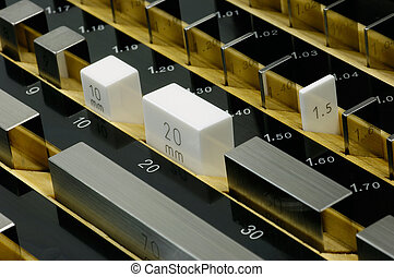 Set of gauge blocks