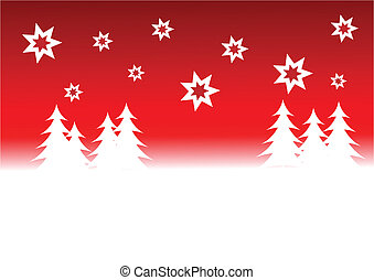 An abstract christmas vector background illustration with a...