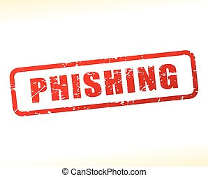 phishing text buffered - Illustration of phishing text...