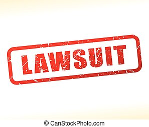 lawsuit text buffered - Illustration of lawsuit text...