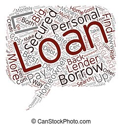 Unsecured Personal Loan vs Secured Homeowner Loan text...