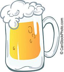啤酒, 杯子