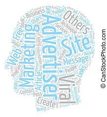 viral techniques 9 text background wordcloud concept