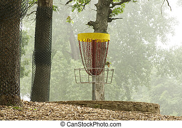 Lake Alimagnet Disc Golf Pole Hole