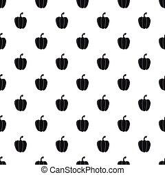 Bell pepper pattern, simple style - Bell pepper pattern....
