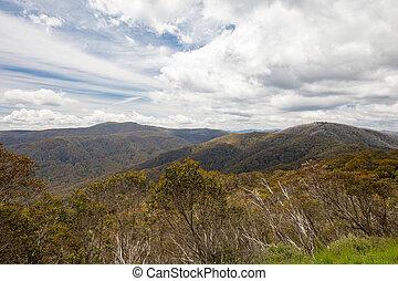 Mount Stirling View - Mount Buller landscape over towards Mt...