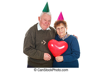 Celebrating birthday together