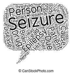 What do you need to know about Epilepsy text background...