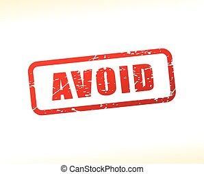 avoid text buffered - Illustration of avoid text buffered on...