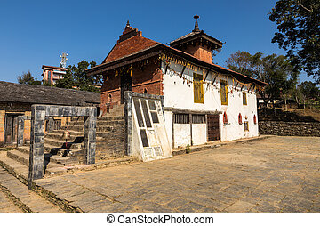 The temple of Khadga Devi, Bandipur, Nepal