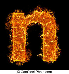Fire small letter N