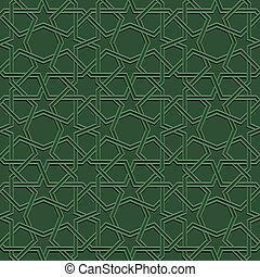 seamless moroccan mosaic - green mosaic moroccan zellige...