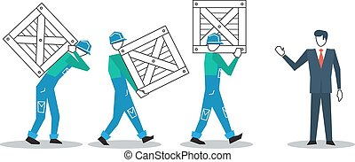 Logistics and delivery workers - Delivery service people,...