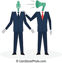 Communication business skills - Trainee concept, business...