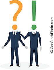 Communication skills concept - Consulting management,...