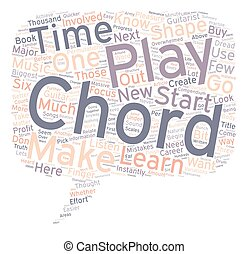 What You Should Know About Beginner Guitar Chords text background wordcloud concept