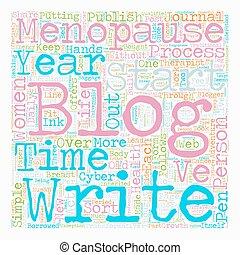 Women s Health Blogs Adventures In The Blogsphere text background wordcloud concept