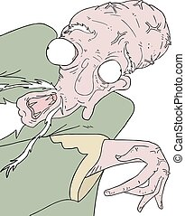 funny ugly man draw - design of funny ugly man draw
