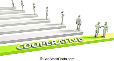 Cooperative Mindset for a Successful Business Concept