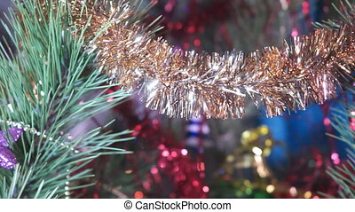 Christmas Tree with Toys