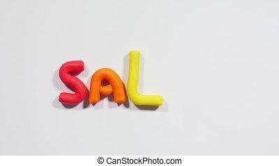 Plasticine big sale