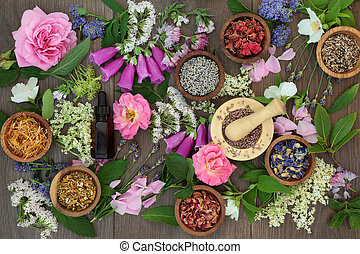 Naturopathic Flowers and Herbs - Naturopathic flower and...