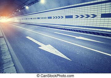 動く, スピード, 動き, 自動車, 速い, ぼんやりさせられた