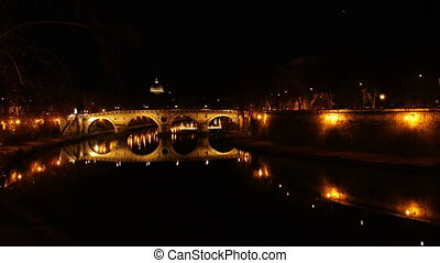 Ponte Sisto ancient Roman Bridge - Ponte Sisto the ancient...